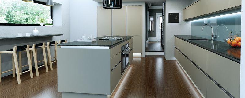 for Linear kitchen design